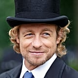 Not many people could pull off a top hat, either — but that's Simon for ya!