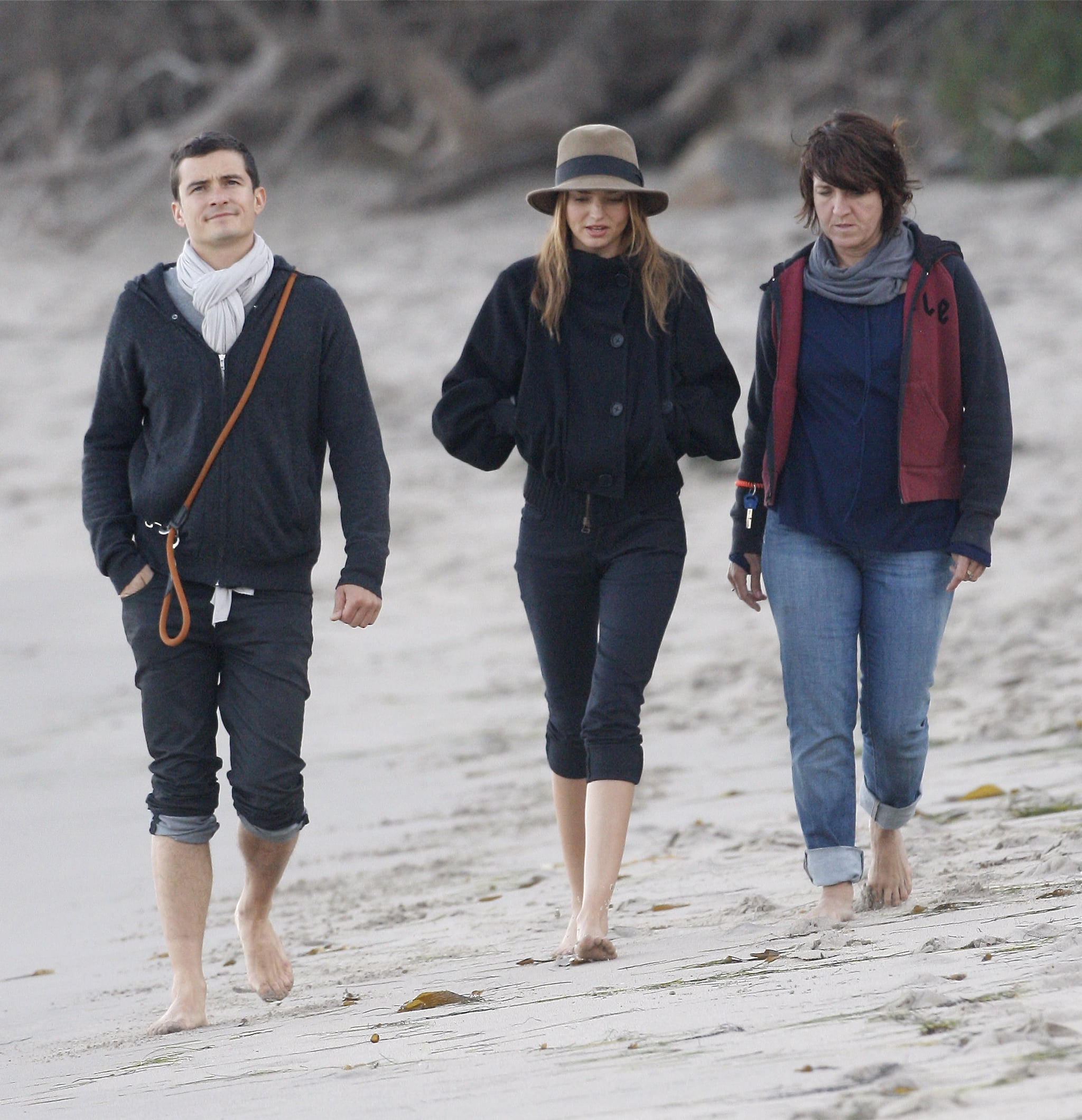 Photos Of Orlando Bloom And Miranda Kerr On The Beach -8213