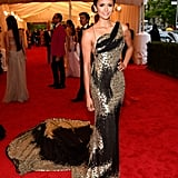Nina Dobrev Donna Karan Pictures at 2012 Met Gala