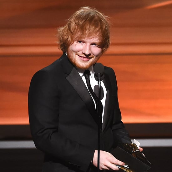 Ed Sheeran Grammys Acceptance Speech 2016