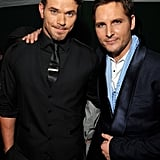 Kellan Lutz and Peter Facinelli partied together in LA following the Breaking Dawn premiere.