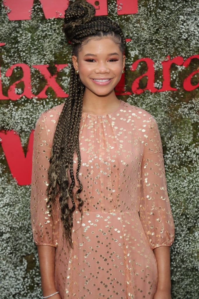 Storm Reid in Classic Box Braids (Colour 8)