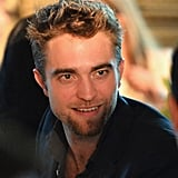 Robert Pattinson is sporting a new goatee.