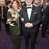 Natasha Lyonne and Fred Armisen at the 2019 Emmys