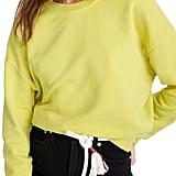 Madewell Garment Dye Oversize Sweatshirt