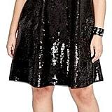 Rachel Roy Sequin Swing Dress