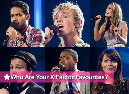 Vote For Your Favourite Contestants In The Final 24 Of The X Factor 2009