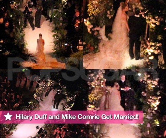 Pictures From Hilary Duff and Mike Comrie's Wedding