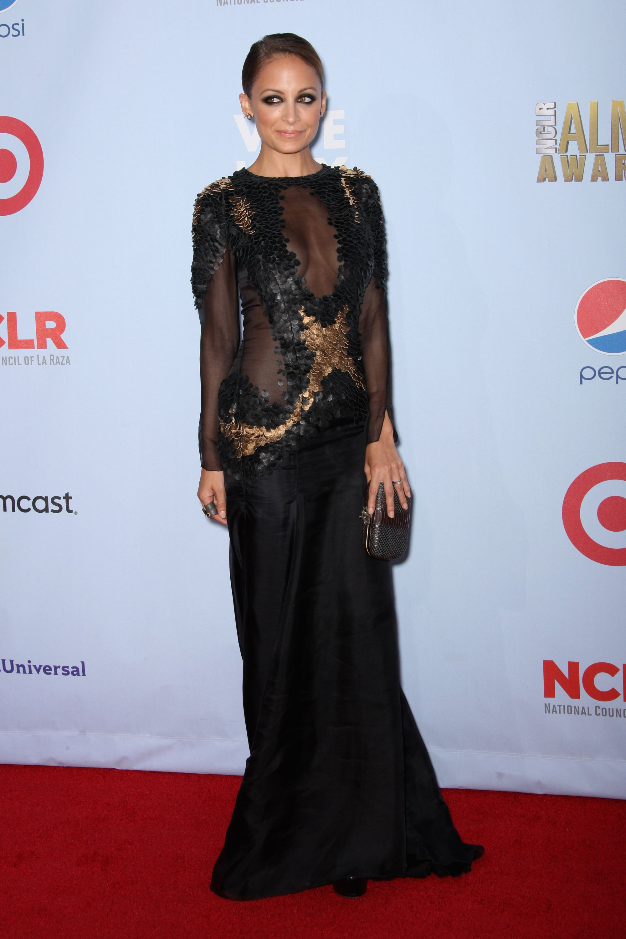 Nicole Richie attended the 2012 ALMA Awards.