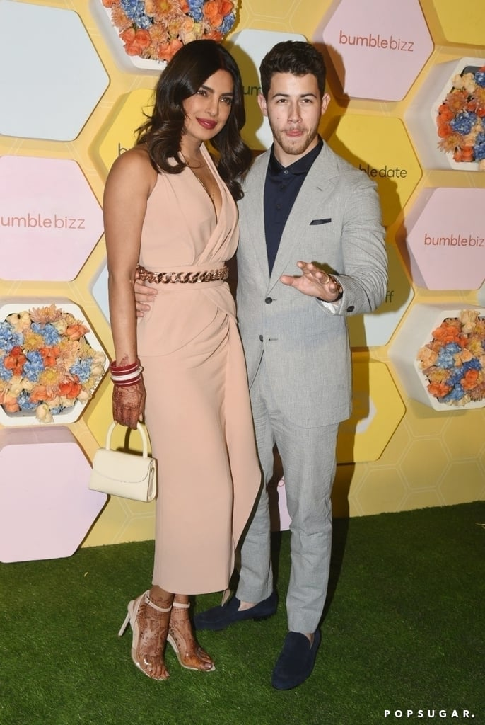 Nick Jonas and Priyanka Chopra at Bumble Party After Wedding