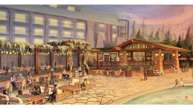 Pool Bar at Disney's Grand Californian Resort