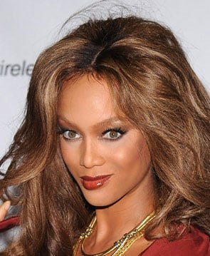 Tyra Banks at Fashion Rocks 2008