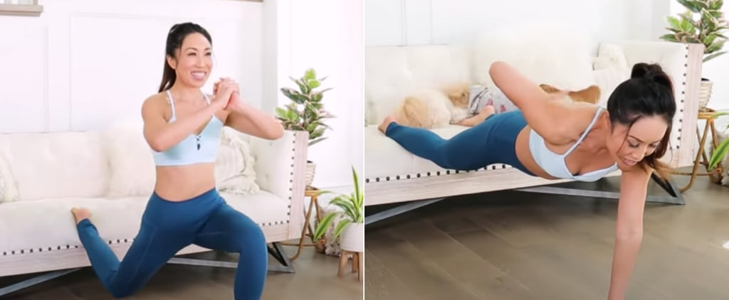 Try a 12-Minute Pilates Couch Workout From Blogilates