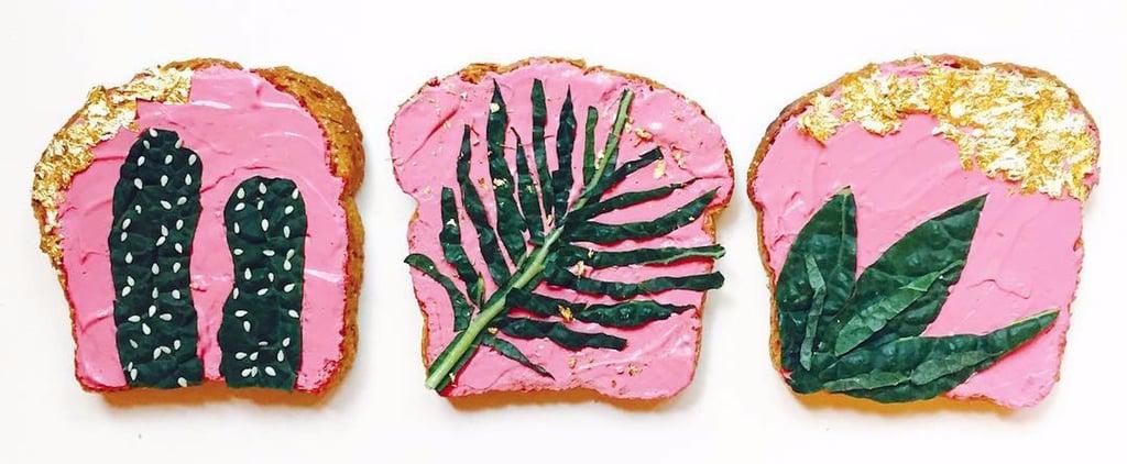 Pretty Kale Toast