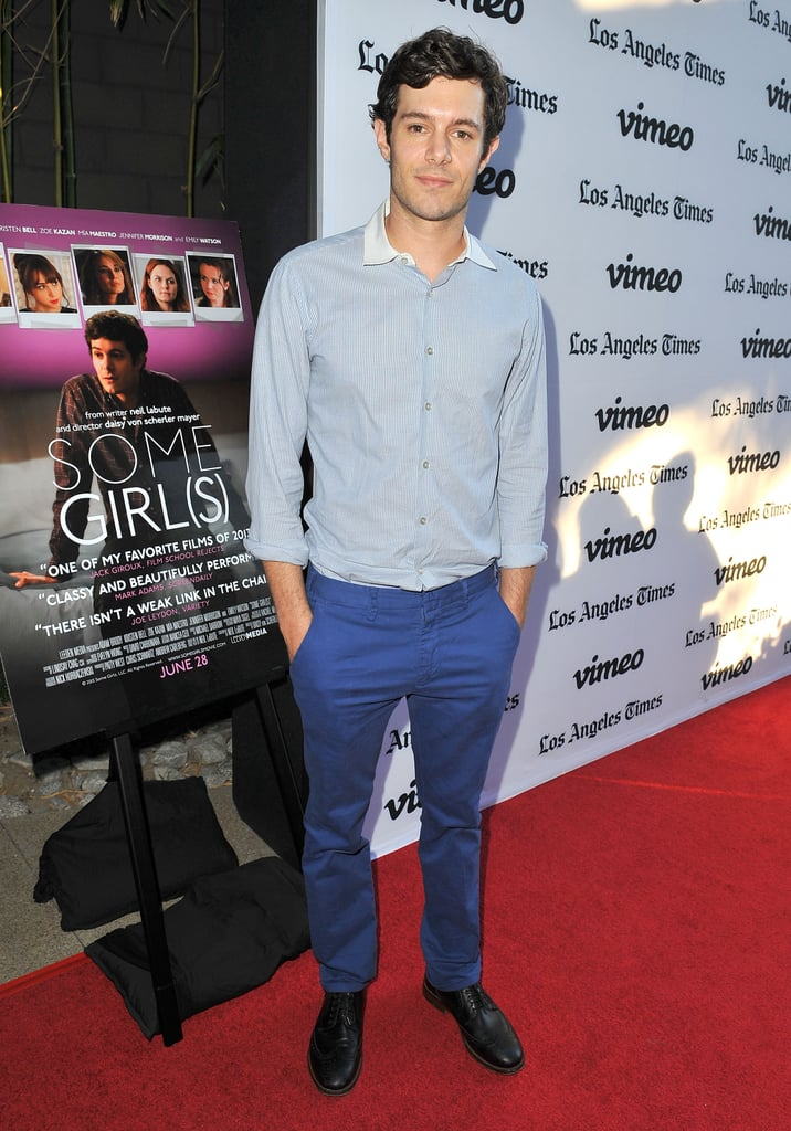 Adam Brody and Leighton Meester at Some Girls Premiere in LA
