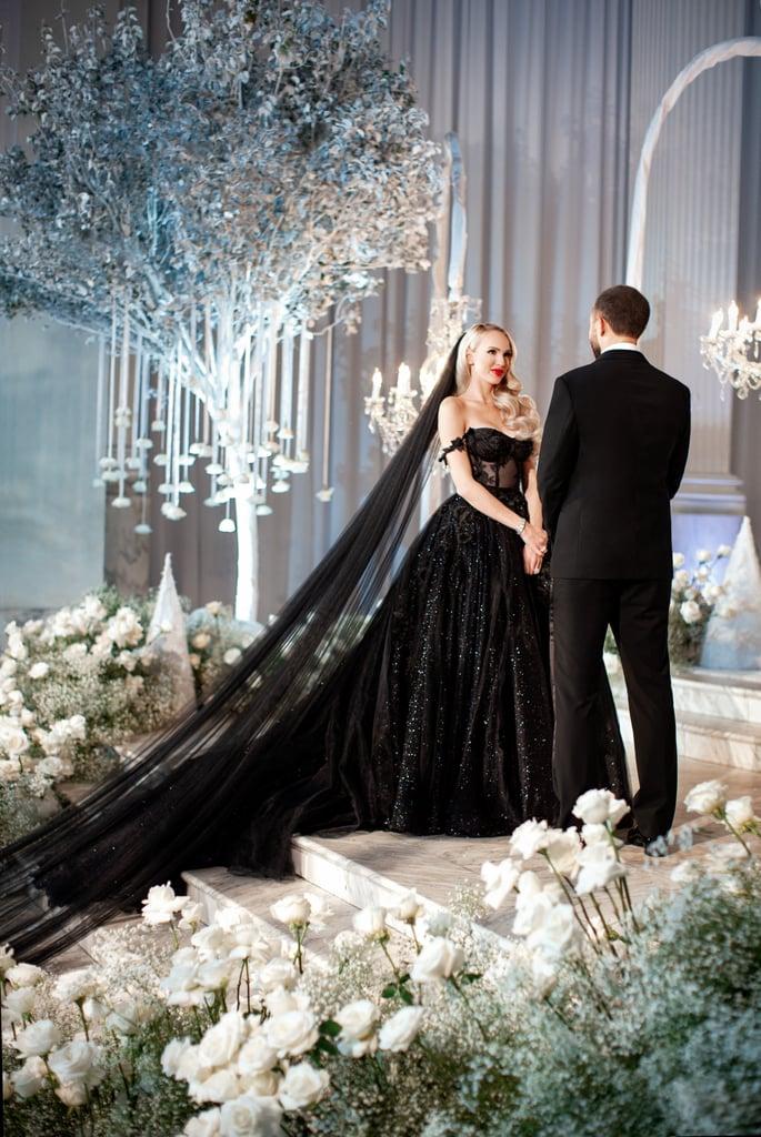Christine's Galia Lahav Wedding Dress on Selling Sunset
