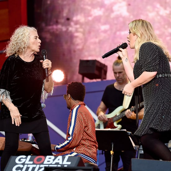 "Kelly Clarkson and Carole King Sing ""Where You Lead"" Video"