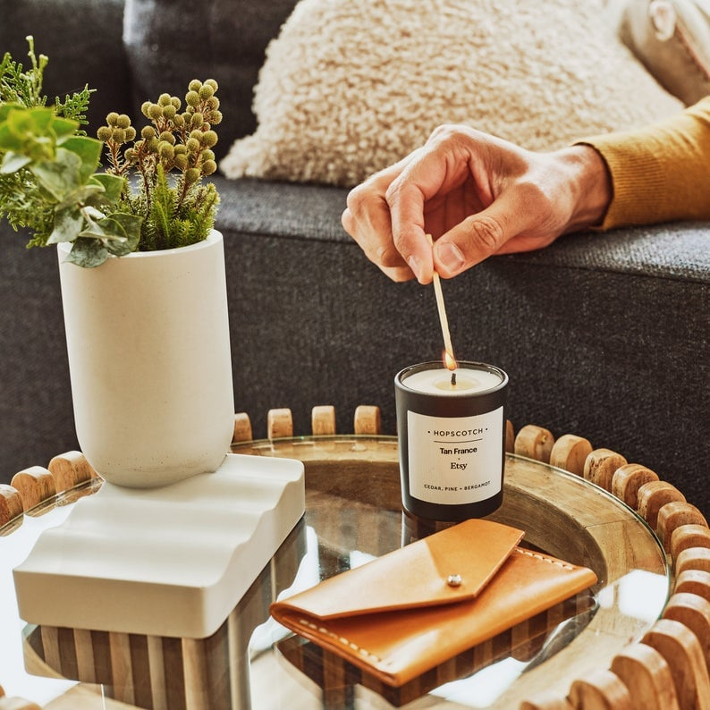 Tan France x Etsy Scented Candle