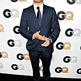 Kellan Lutz hit the black carpet for GQ's Men of the Year awards.