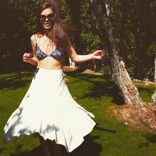 Hailee Steinfeld Swimsuit Style