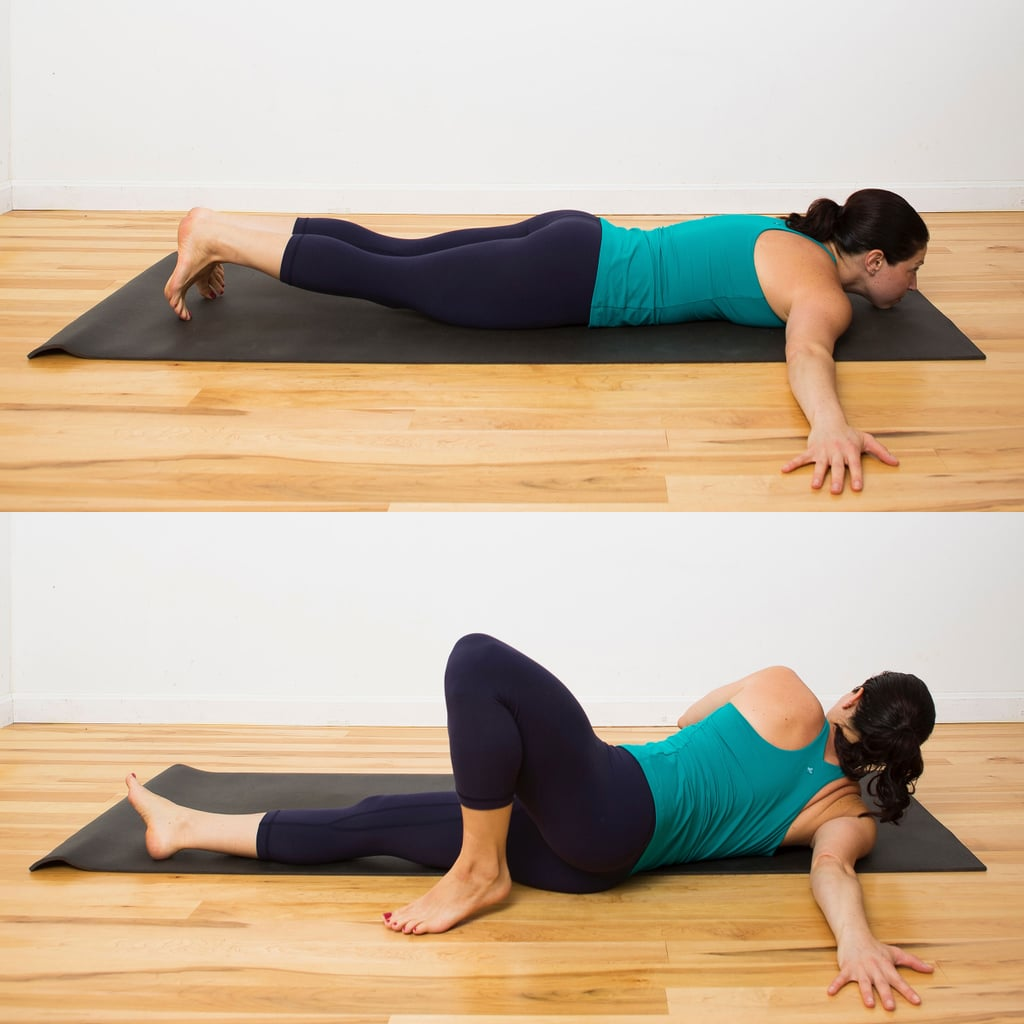 Chest Opening Spinal Twist