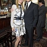 Gwyneth Paltrow posed with her GOOP partner, Seb Bishop.
