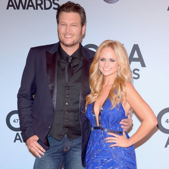 Miranda Lambert and Blake Shelton at the CMAs 2013