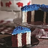 Red, White, and Blue Cakes