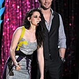 Kristen Stewart and Chris Hemsworth presented the best female performance award.
