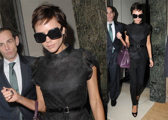 Photos of Victoria Beckham in London, Video of David Beckham on The Today Show