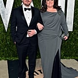 Melissa McCarthy and Ben Falcone arrived at the Vanity Fair Oscar party on Sunday night.