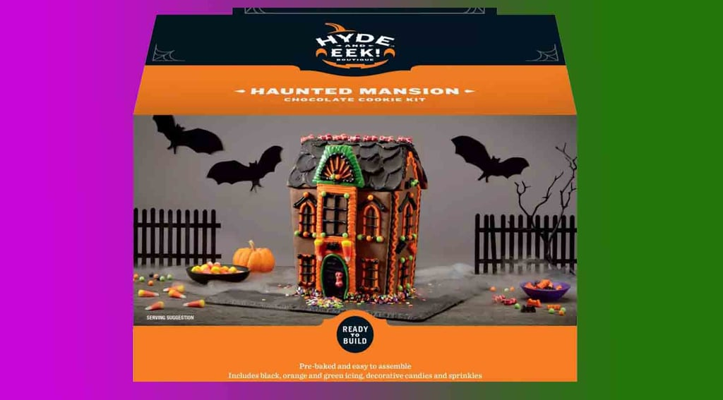 Target Haunted House Cookie Kit