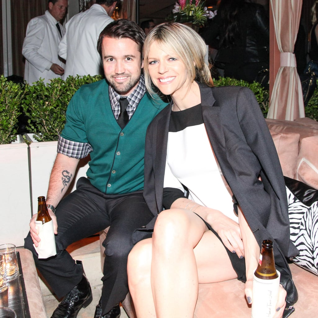 Kaitlin Olson And Rob McElhenney Sipped On Beverages