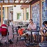Photos of Dads Supporting Breastfeeding in Public