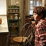 Henry visits Emma and Mary Margaret's place.