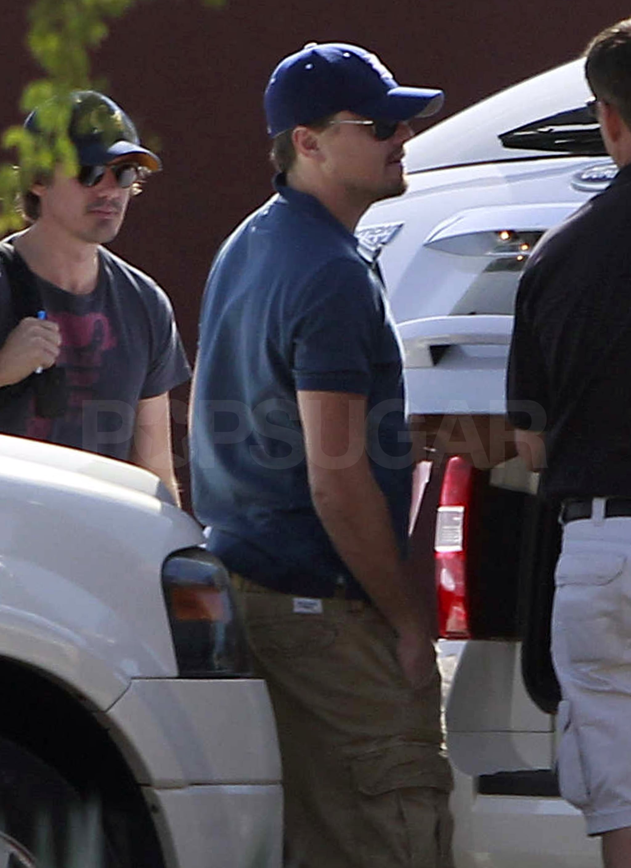 Leonardo DiCaprio was joined by his best friend Lukas Haas on a quick getaway to Mexico.