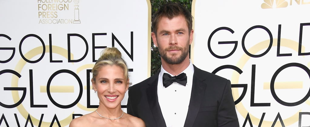 Chris Hemsworth and Elsa Pataky Are Basically the Ken and Barbie of the Golden Globes