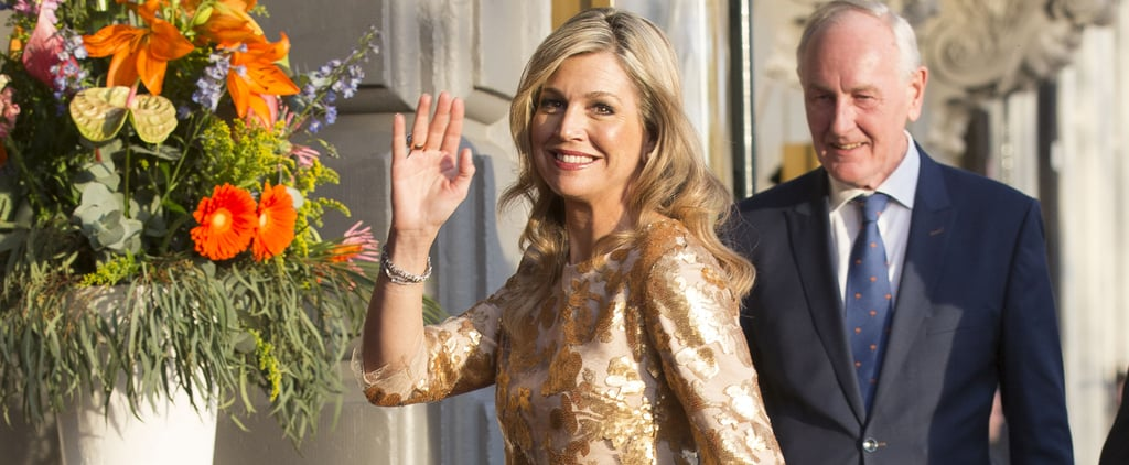 Queen Máxima Shows Us the Royal Way to Pull Off the Sheer Trend
