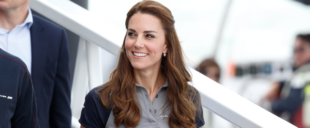 Kate Middleton Wearing Sneakers