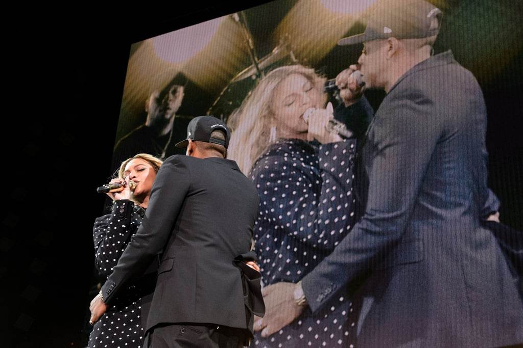 beyonce knowles and jay z at hillary clinton concert 2016 popsugar celebrity photo 6. Black Bedroom Furniture Sets. Home Design Ideas