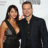 Matt Damon and Luciana Barroso at the TIFF 2015