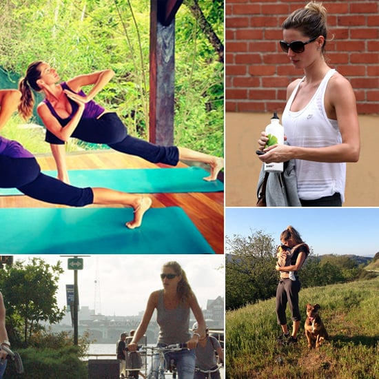 Gisele Bundchen's Exercise Routine