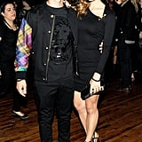 Joe Jonas and Blanda Eggenschwiler at the JW Anderson for Versus launch party. Source: Billy Farrell/BFAnyc.com