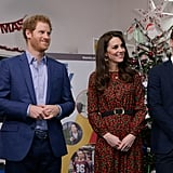 The Royals at The Mix Christmas Party in London Dec. 2016