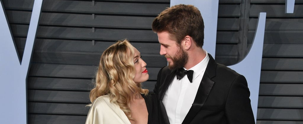 Miley Cyrus and Liam Hemsworth Valentine's Day Message 2019
