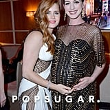 Pictured: Anne Hathaway and Amy Adams