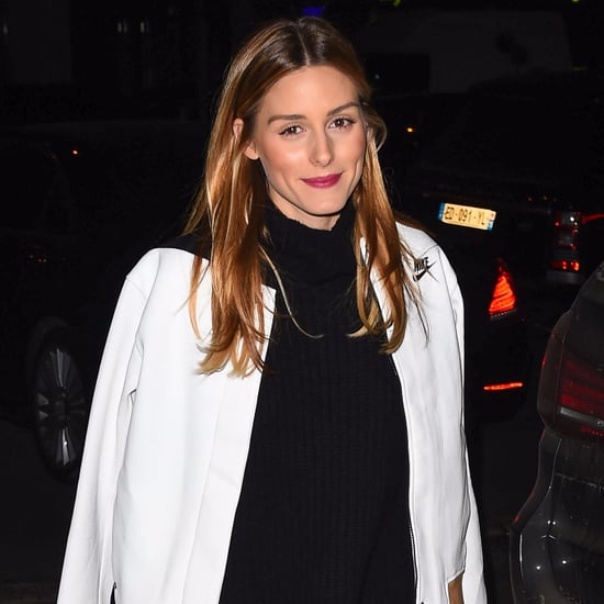 Olivia Palermo White College Nike Bomber Jacket Shop
