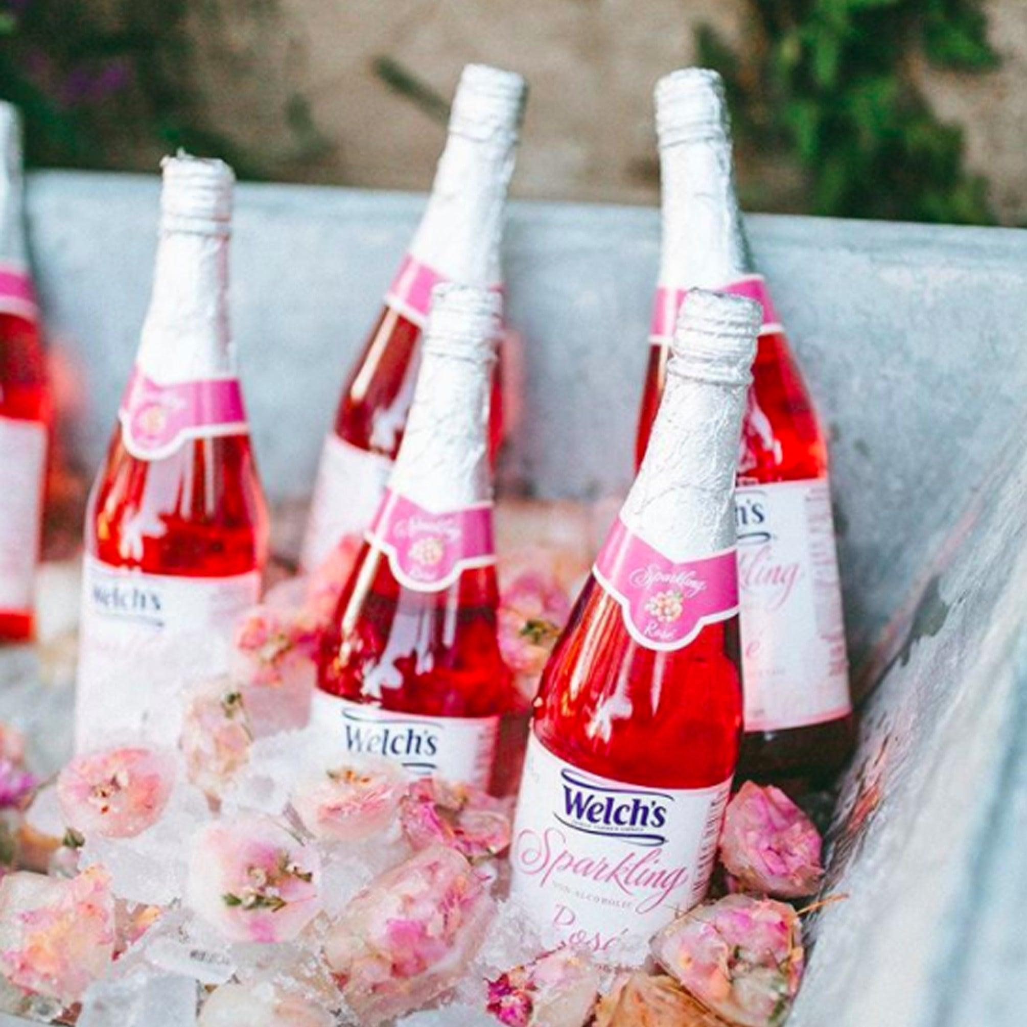 Welch\'s Sparkling Rosé Grape Juice | POPSUGAR Moms