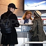 Hayden and Rachel Look Very Much Coupled Up as They Travel Together