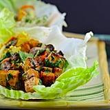 Easy Vegetarian Recipe: Vegan Thai Lettuce Cups With Peanut Sauce